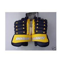 "New Sherwood HG 9950 Pro Hockey Gloves 14.5"" Buffalo"