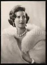Large REAL photo / Princesse Lilian / Lilian Baels / Photographe Robert Marchand