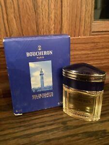 Boucheron Paris Men Eau De Toilette Pour Homme 5 ML .17 Oz. Cologne Travel Size
