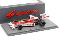 Spark McLaren M23 #5 GP Monaco 1974 Emerson Fittipaldi S7147 1/43