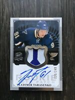 2013-14 UD The Cup Vladimir Tarasenko Rookie Patch Auto /249 True RPA Best RC
