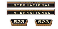 IHC / Mc Cormick  Aufkleber international 523 Gold Logo Emblem Sticker Label