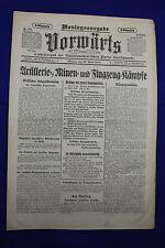 VORWÄRTS (19. April 1915): Artillerie=, Minen= und Flugzeug=Kämpfe