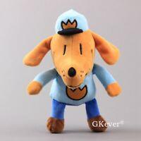 Cartoon Dog Man Plush Doll Soft Stuffed Animal Toy 10'' Teddy Kids Xmas Gift
