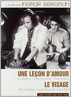 DVD : Une leçon d'amour + Le visage - Ingmar Bergman