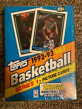 ONE 1992-93 TOPPS SERIES 1  SEALED BASKETBALL BOX!