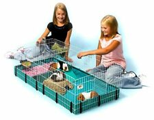 Midwest Guinea Pig Cage Habitat Interactive Expandable Animal Pet Play Indoor