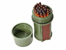 UCO Stormproof Match Kit Dark Green 25 MATCHES Emergency Survival Weather Proof