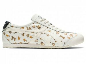 Asics Onitsuka Tiger MEXICO 66 1183B785 CREAM/CREAM With Shoes Bag
