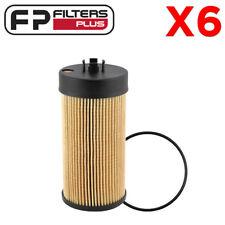 6 X P7235 Baldwin Oil Filter F-Truck 6.0L/6.4L T/Diesel 2003 to 2010 3C3Z6731AA