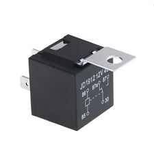 Waterproof Car Relay 40A 4Pin Automotive Fuse Relay Normally Open DC 12V