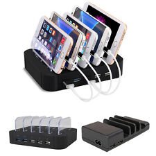 4-Port USB hub Charging Dock Station Charger Stand organizer Tablet/iPAD/iPhone!