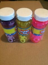 Bubbles 3 Pack (Creatology Outdoor Fun)