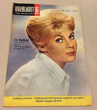 "EVY NORDLUND on the Front Cover Original Vintage Danish Magazine ""Tempo"" 1960"