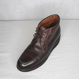 Allen Edmonds Men's Stuart Boots Leather Chukka Style Ankle Shaft Size 9.5 B