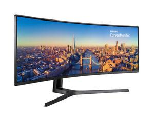 "SAMSUNG LC49J890DKEXXY LINE 49"" Curved Monitor 32:9 Ultra-Wide 3840x1080,144Hz"
