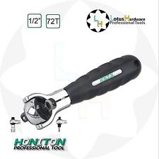 "Ratchet Handle Swivel Head CrMo Magnetic 2in1 1/2"" 72teeth PAWL Honiton H-410"