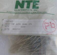 NTE Electronics HW6D8 RESISTOR 1//2W METAL FILM FLAMEPROOF 6.8 OHM AXIAL LEAD