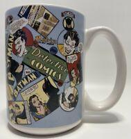 EUC Vintage 1993 Collectible DC Classic Collection Detective Comic Coffee Mug