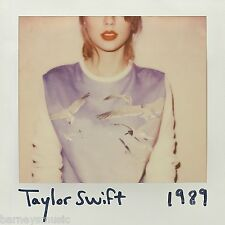 TAYLOR SWIFT ( NEW SEALED CD ) 1989 ( SHAKE IT OFF )