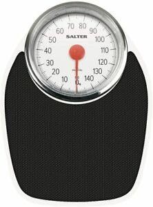 Salter Doctor Style Mechanical Bathroom Scales – Retro White Black Accurate