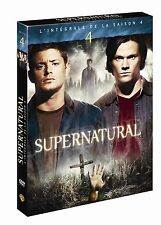 30321 // SUPERNATURAL SAISON 4 COFFRET 6 DVD EN TBE