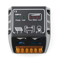 Solar Panel Charger Controller Regulator 10A 12V/24V Auto Switch CE TSR Safe LO