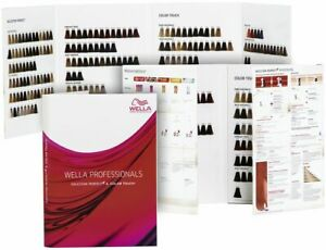 Wella Koleston Perfect ME+ and Colour Touch Duo Shade Chart Guide Book FREE P&P