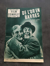 LE FILM COMPLET N°437 DE L'OR EN BARRES Alex Guinness Stanley Holloway  E5