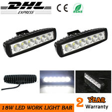 2x LED Driving Work Light Bar Truck Boat Offroad Fog Lamp Pickup For JEEP Ford