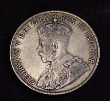 Canada 50 Cents 1917 Fine