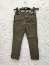 Zara Boys Jeans Gr.122, oliv-grün