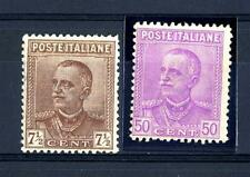 ITALIA - Regno - 1928 - Effigie di Vittorio Emanuele III° - Tipo Parmeggiani