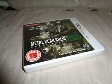 METAL GEAR SOLID SNAKE EATER 3D 3ds game UK RELEASE NEW FACTORY SEALED RARE