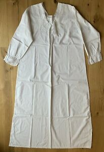 Original Antique / Vintage Victorian Women's Cotton Lace Nightdress