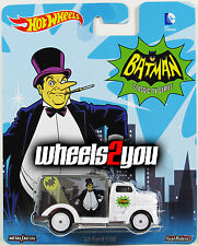 49 FORD COE Penguin - Batman TV Show - 2015 Hot Wheels Pop Culture C Case