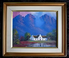 HELENA MOMMEN ORIGINAL OIL PAINTING SIGNED FRAMED SOUTH AFRICA ECLECTIC COOL