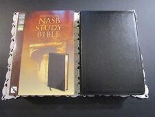 ** NASB **   Zondervan Study Bible - Black Bonded Leather - $69.99 Retail    947