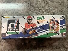 2019 Panini Donruss Football Factory 400 Card Complete Set