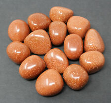 Bulk 1/4 lb Lot Red Goldstone Tumbled Stones (Crystal Healing Tumble Reiki)