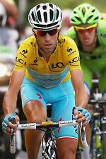 VINCENZO NIBALI TEAM ASTANA TOUR DE FRANCE 2014 CHAMPION CELEBRATION POSTER