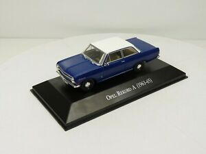 OPE92R voiture 1/43 IXO eagle moss OPEL collection : REKORD A 3 portes 1963