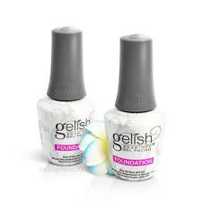 2 x Nail Harmony Gelish UV Soak Off Gel Foundation Gel Base Gel 0.5oz