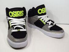 OSIRIS Mens NYC 83 VULC SZ 8.5 Grey Lime Skateboard Lace Up High Top Shoes X2-31