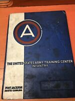 USA Army Training Center Fort Jackson Yearbook Company B 8th Battalion 1957
