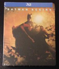 BATMAN BEGINS Blu-Ray SteelBook The Dark Knight Katie Holmes Christian Bale Rare