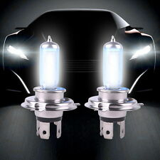 2 x Car Auto H4 HID Xenon Super White Headlight 12V 100W Halogen Bulb Lamp Light