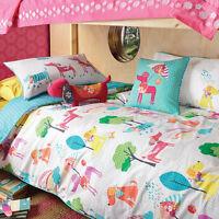 KAS Kids Perfect Pooch Single Double Quilt Duvet Cover & Ruffles Cushion Set
