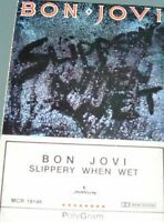 Bon Jovi - Slippery When Wet [New Vinyl LP] 180 Gram