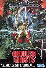 GHOULS N GHOSTS locale Mega Drive incorniciato stampa (foto poster Arte di gioco arcade)